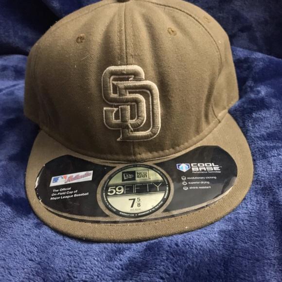06f6129ba5356f AUTHENTIC NEW ERA 7 5/8 fitted San Diego Padres. M_5c9df136969d1f890f654e80